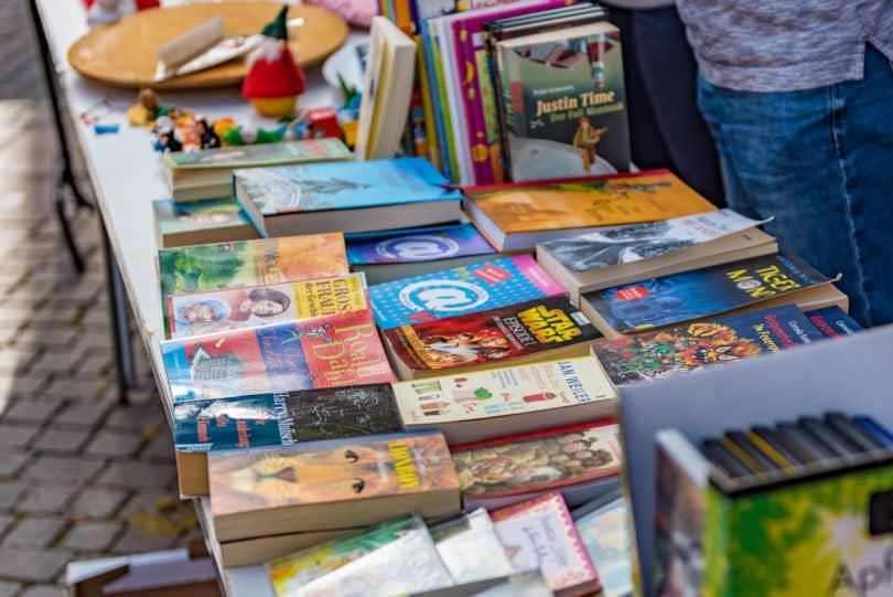 Großer Bücherflohmarkt in Wuppertal Unterbarmer