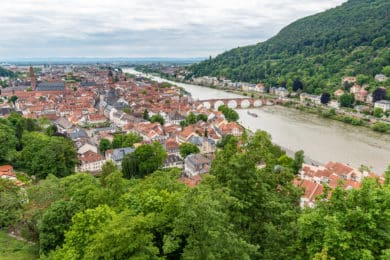Flohmarkt zum Südstadtfest in Heidelberg